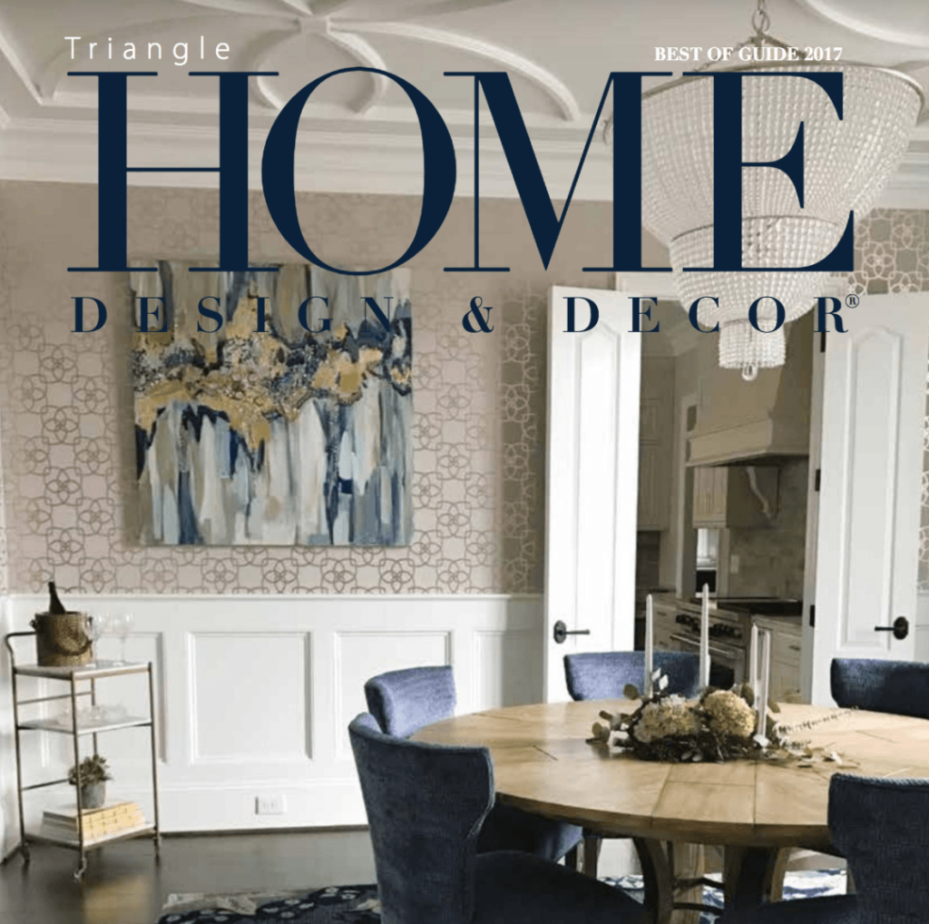 Cover of Triangle Home Design & Décor Best of 2017 Issue