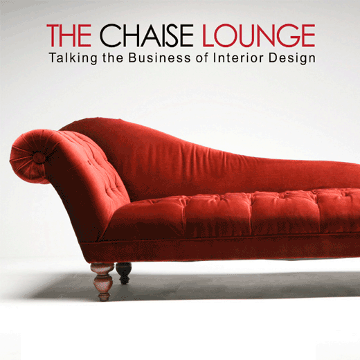 Logo for The Chaise Lounge Podcast