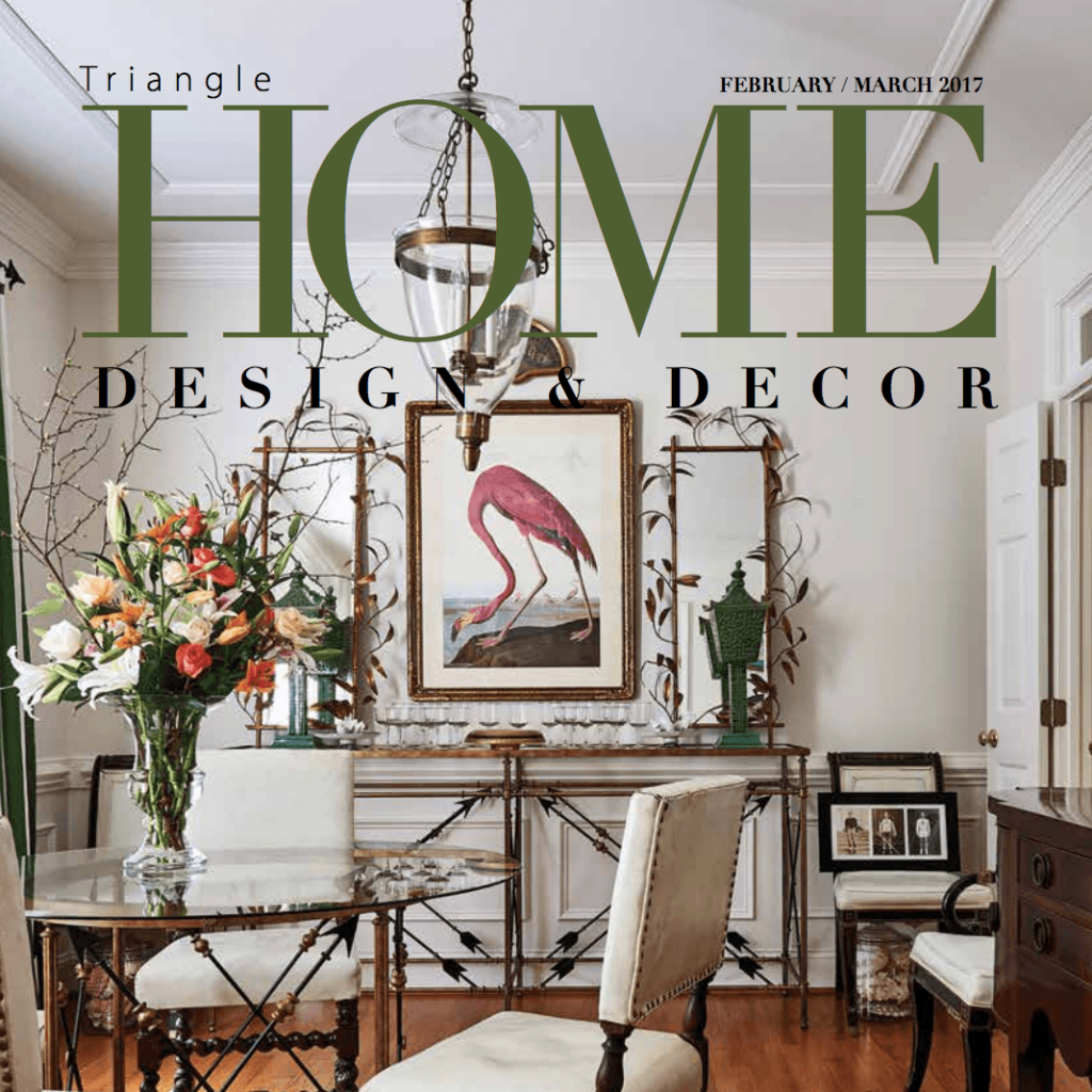 Cover for Triangle Home Design & Décor February/March 2017 Issue