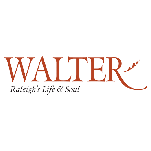 Logo for Walter Magazine, Raleigh's Life & Soul