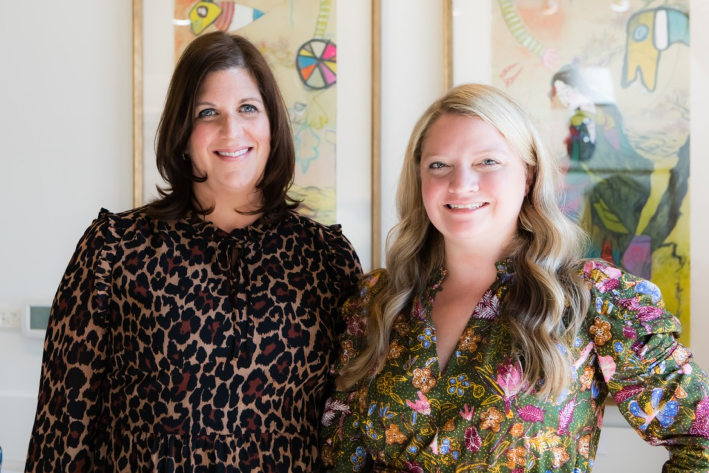 Photo of the owners of The Warehouse Interiors - Liles Dunnigan and Zandy Gammons